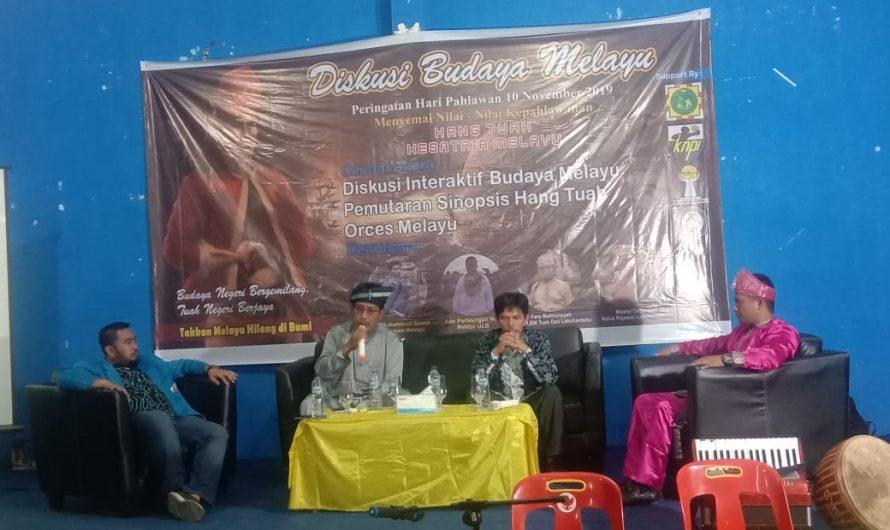 Rektor ULB sebagai Narasumber Dalam Diskusi Budaya Melayu