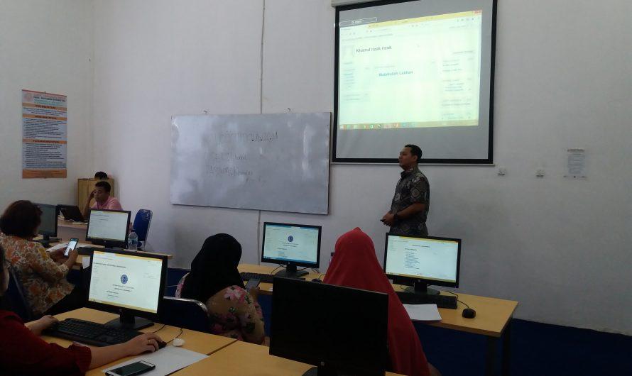 Dosen Universitas Labuhanbatu Mengikuti Kegiatan Whorkshop E-Learning